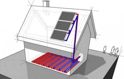 Tp calefacci n solar piso radiante csier renovable en - Calefaccion suelo radiante problemas ...