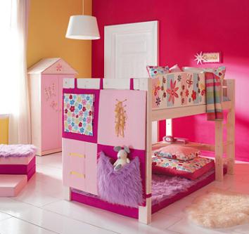 Tp ideas para la decoraci n de dormitorios infantiles for Recamaras juveniles en puebla