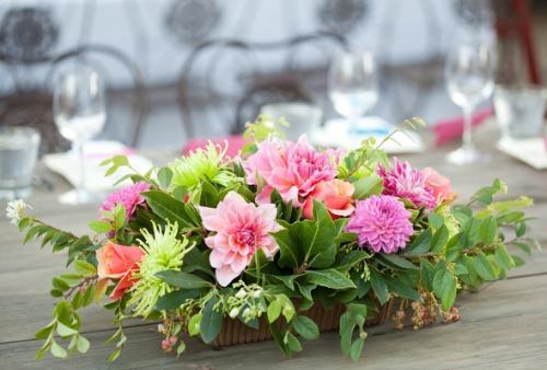 Tp centros de mesa con flores vincent boutique floral en puebla - Centro de mesa con flores ...