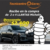 Llantera Garay - Llantas Michelin