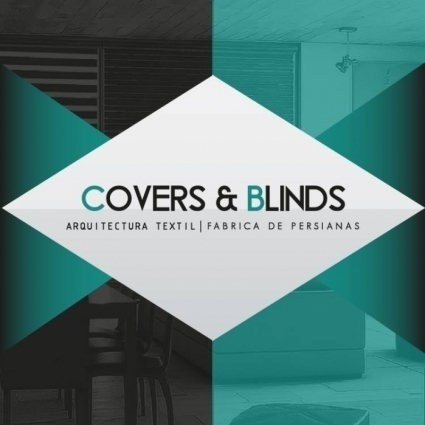 Logotipo - Covers & Blinds - Arquitectura textil