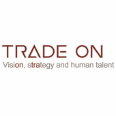 Logotipo - Trade On. Visión, Strategy and human talent.
