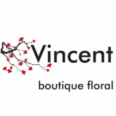 Logotipo - Vincent Boutique Floral
