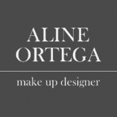Logotipo - Aline Ortega Make Up Designer