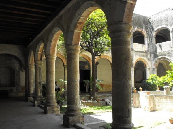 Ex Convento de San Francisco en Huejotzingo