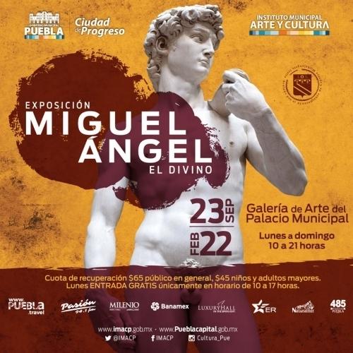 Banner de Miguel Ángel, El Divino