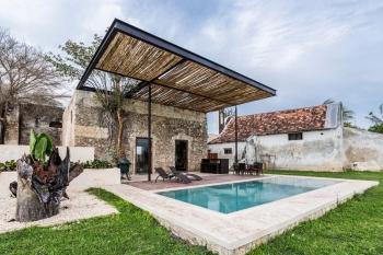 Tp Fotos De Terraza Con Vigas De Acero En Hacienda