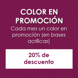 20% de descuento en el color del mes - Alejandra Villagómez Nails Boutique - Puebla