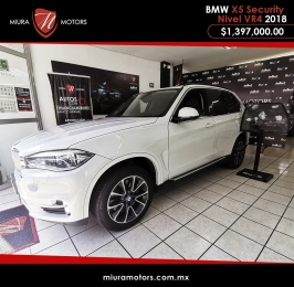 Segura BMW X5 xDrive 50ia Security Nivel Vr4 // Máxima seguridad // Lo importante reside en su inter...